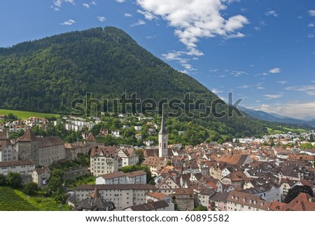 Chur - town in Switzerland