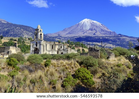 church and pico de orizaba...
