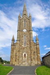 Church at Donegal, Ireland