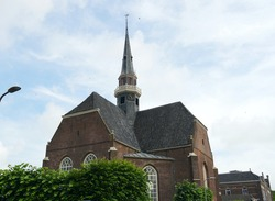 Church building in the city of Coevorden in the Netherlands, built in 1641.