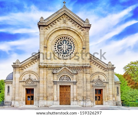 Church Eglise Notre Dame Des Champs Paris France
