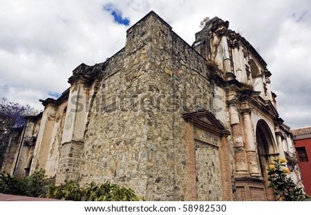 Church in Antigua, Guatemala, Central America.