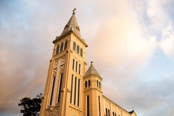 Church in Dalat,Vietnam