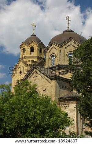 Church in Evpatoria, Crimea, Ukraine