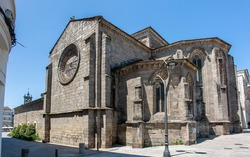 Church in Lugo (in Spanish Iglesia de San Pedro Lugo) Northern Spain Galicia