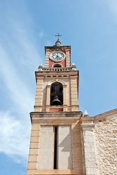 church in Navarres, Valencia, Spain