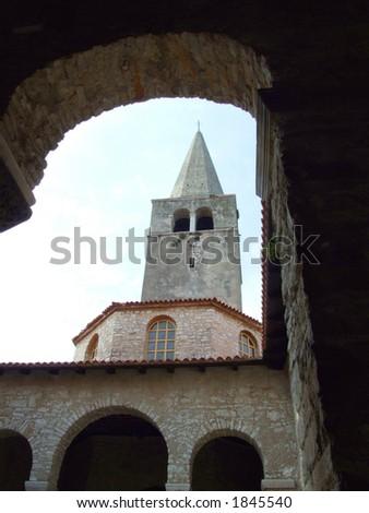 Church in Porec - Istria