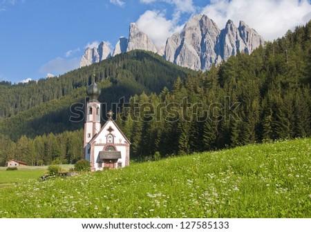Church in the European Alps