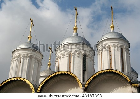 Church inside Kremlin, Moscow, Russia