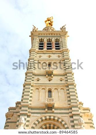 Church Notre Dame de la Garde, Marseille, France