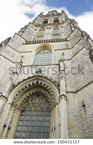 Church of Breda in the  Netherlands
