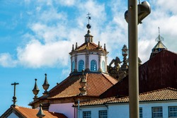 Church of chaves in portugal