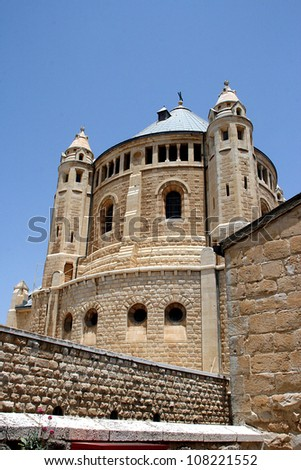 Church of Dormition and Armenian Cemetery on Mount Zion