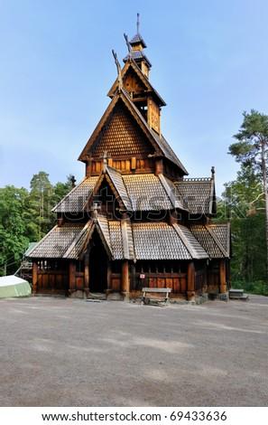 Church of Gol in Oslo, Norway.
