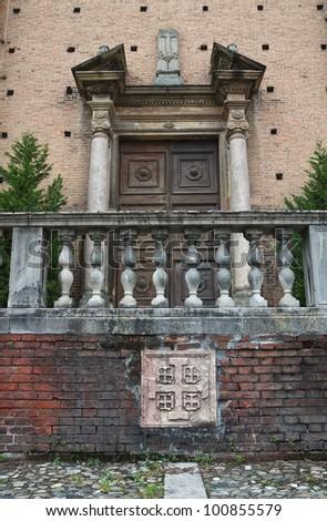 Church of Holy Sepulchre. Piacenza. Emilia-Romagna. Italy.