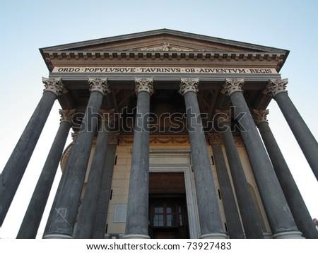 Church of La Gran Madre in Turin Italy