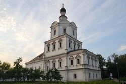 Church of Michael Archangel (the 1690s) in Andronikov Monastery of Saviour (1357), Moscow, Russia