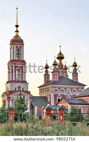 Church of Saint Archangel Michael (1769) in Suzdal, Russia