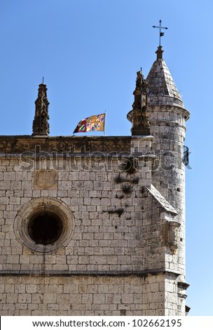 Church of San Antolin in Tordesillas, Spain