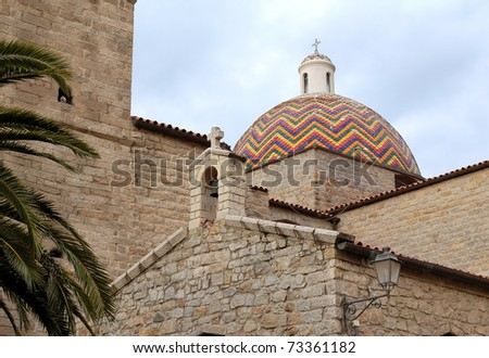 Church of San Paolo - Sardinia - Italy
