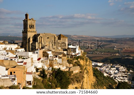Church of San Pedro, Arcos de la Frontera, Andalusia, Spain