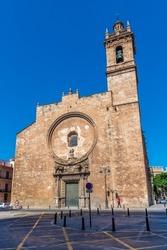 Church of Sant Joan del Mercat in Valencia, Spain