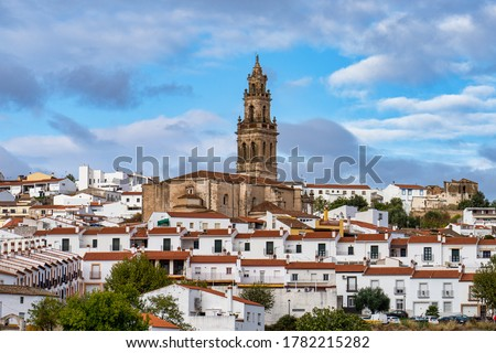 Church of Santa Catalina, Parroquia de Santa Catalina at Jerez de los Caballeros, Badajoz, Extremadura in Spain.