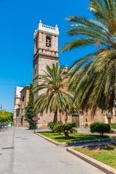 Church of Santa Maria del Mar in Valencia, Spain