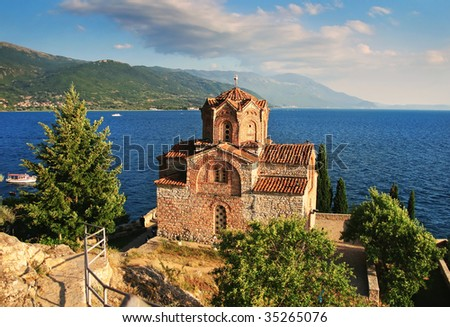 Church of St. John at Kaneo (Sveti Jovan Bogoslov), Ohrid