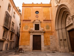 Church of St. Nicholas  (Esglesia Sant Nicolau) in Valencia, Spain.