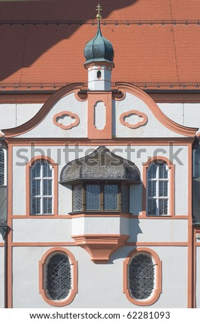 Church of the Andechs Monastery in Bavaria