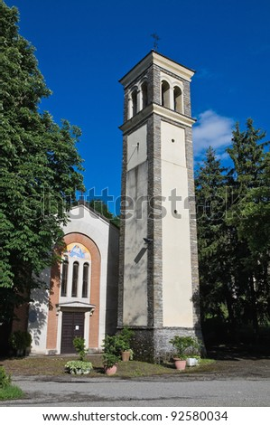 Church of the Assumption. Bettola. Emilia-Romagna. Italy.