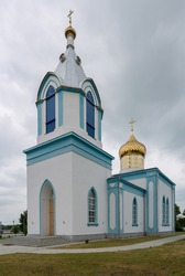 Church of the Intercession in Olekshitsy. Olekshitsy - agrovillage in Berestovitsa district of the Grodno region of Belarus, the center of the village council Olekshitskogo.