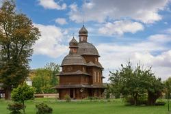 Church of the Intercession of the Virgin, Tserkva Pokrovy Bohorodytsi, Krekhiv Monastery of St. Nicholas of the Basilian Fathers, the Ukrainian Greek Catholic Church. Monastery ensemble.