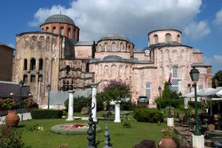 Church of the Pantocrator, Turkish Zeyrek Camii, Istanbul, Turkey