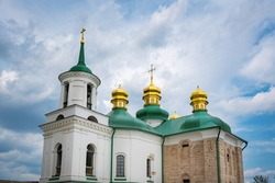 Church of the Saviour at Berestov at Pechersk Lavra Monastery Complex - Kiev, Ukraine