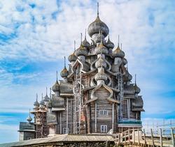 Church of the Transfiguration - Kizhi Island, Russia