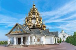 Church of the Transfiguration of the Savior on the territory of the Ust-Medveditsky Savior-Transfiguration Monastery. Serafimovich. Volgograd Oblast. Russia