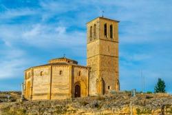 Church of Vera Cruz at Segovia, Spain