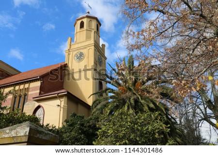 Church on an idyllic day #1144301486