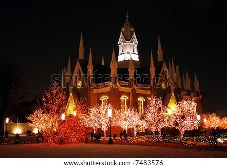 Church on Temple Square, Salt Lake City