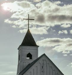 Church religion concept image