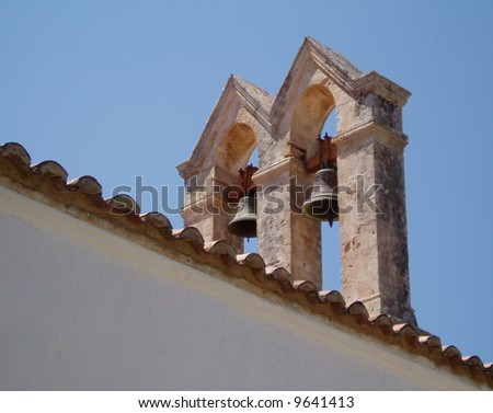 Church Roof with Bells