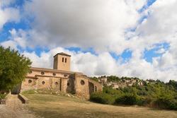 Church Saissac in French languedoc