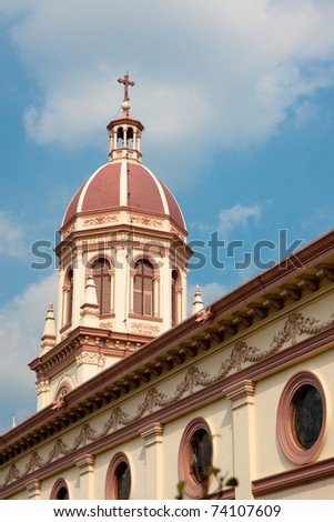 Church tower, Thailand