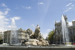Cibeles Fountain at 0 degrees angle, more like this from different angles in my portfolio