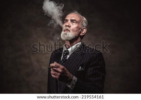 cigar smoking characteristic...