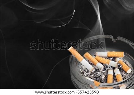 Cigarette. ストックフォト ©