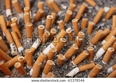 Cigarette burns