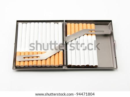 Cigarette holders.